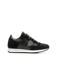 Женские черные кроссовки от Philippe Model