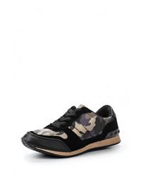 Женские черные кроссовки от Wellspring