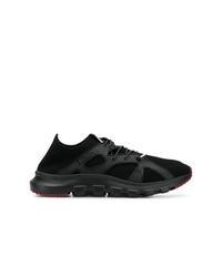 Мужские черные кроссовки от Z Zegna