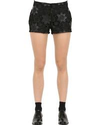 Женские черные кружевные шорты от Es'givien