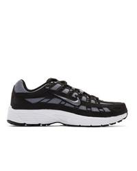 Женские черные низкие кеды из плотной ткани от Nike
