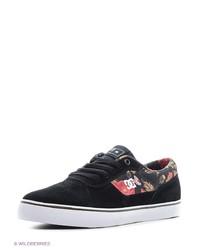 Мужские черные низкие кеды от DC Shoes
