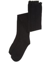 Женские черные носки до колена от Free People