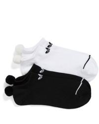 Черные носки-невидимки