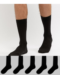 Мужские черные носки от ASOS DESIGN