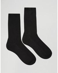 Мужские черные носки от Asos
