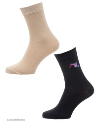 Мужские черные носки от Malerba