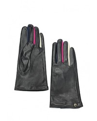 Женские черные перчатки от Armani Jeans