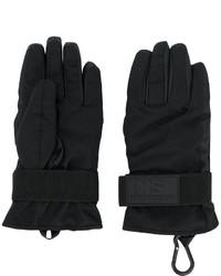 Мужские черные перчатки от DSQUARED2