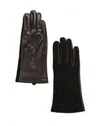 Женские черные перчатки от Vitacci
