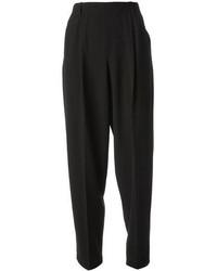 Черные пижамные штаны