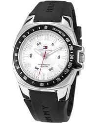 Черные резиновые часы
