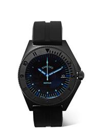 Мужские черные резиновые часы от Bamford Watch Department