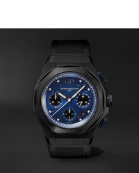 Мужские черные резиновые часы от Girard Perregaux