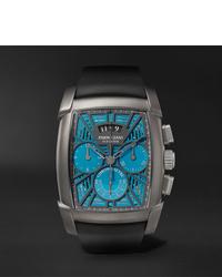 Мужские черные резиновые часы от Parmigiani Fleurier