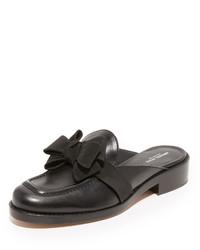 Черные сандалии на плоской подошве от Michael Kors