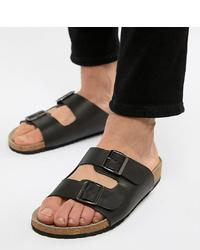 Мужские черные сандалии от ASOS DESIGN