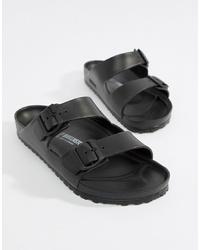 Мужские черные сандалии от Birkenstock