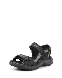 Мужские черные сандалии от Ecco