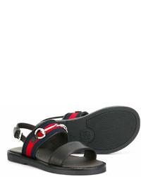 Детские черные сандалии для мальчику