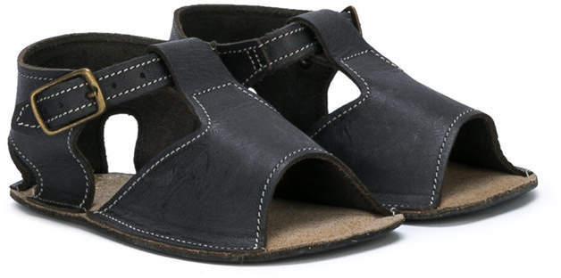 Детские черные сандалии для мальчику от Pépé