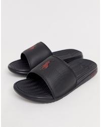 Мужские черные сандалии от Polo Ralph Lauren