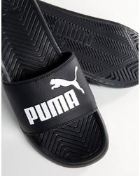 Мужские черные сандалии от Puma