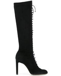Женские черные сапоги от Jimmy Choo