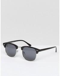 Женские черные солнцезащитные очки от Asos