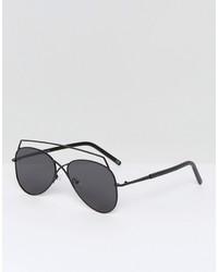 Мужские черные солнцезащитные очки от Asos