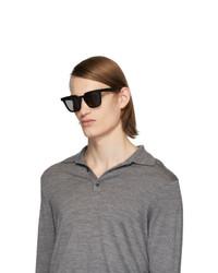 Мужские черные солнцезащитные очки от Maison Margiela