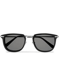 Мужские черные солнцезащитные очки от Brioni