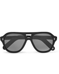 Мужские черные солнцезащитные очки от Cubitts