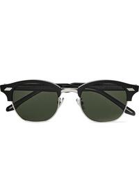 Мужские черные солнцезащитные очки от CUTLER AND GROSS