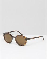 Мужские черные солнцезащитные очки от Giorgio Armani