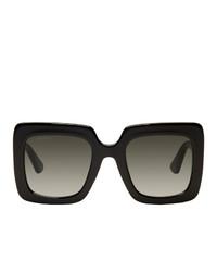 Женские черные солнцезащитные очки от Gucci