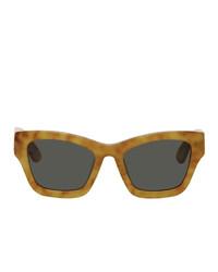 Мужские черные солнцезащитные очки от Han Kjobenhavn