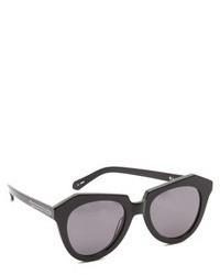 Женские черные солнцезащитные очки от Karen Walker
