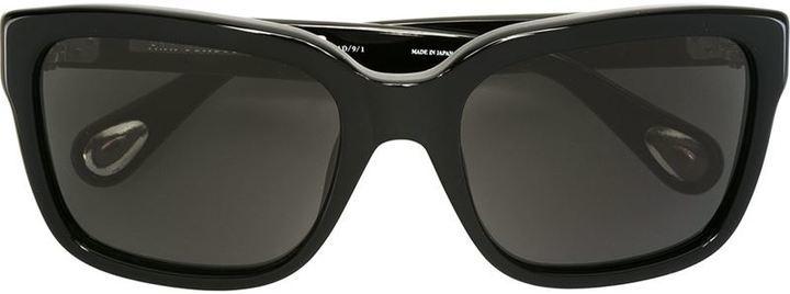 Мужские черные солнцезащитные очки от Linda Farrow