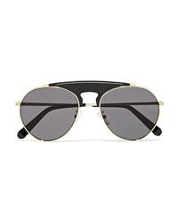 Женские черные солнцезащитные очки от Loewe
