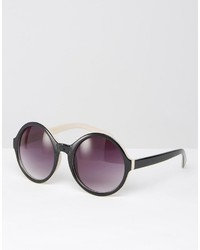 Женские черные солнцезащитные очки от Missguided