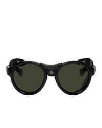 Мужские черные солнцезащитные очки от Moncler