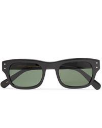 Мужские черные солнцезащитные очки от Moscot