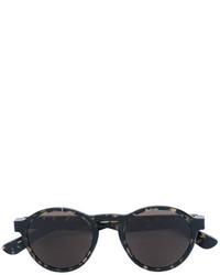 Женские черные солнцезащитные очки от Mykita