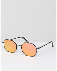 Мужские черные солнцезащитные очки от Quay