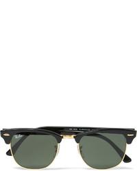 Мужские черные солнцезащитные очки от Ray-Ban