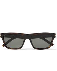 Мужские черные солнцезащитные очки от Saint Laurent