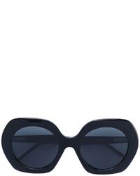 Женские черные солнцезащитные очки от Thom Browne