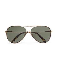 Женские черные солнцезащитные очки от Victoria Beckham