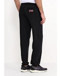 Мужские черные спортивные штаны с принтом от Atributika & Club™